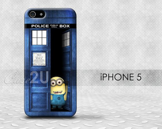 Tardis, Doctor Who, Police Call Box iPhone 5 Case, iPhone 5 Cover, Hard iPhone 5 Case, Soft TPU silicone case, Galaxy S3, S4 on Etsy, 9,86€