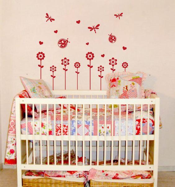decoraciones en vinil habitaciones infantiles