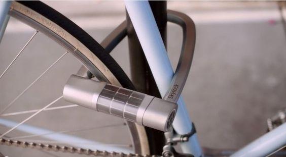 Fahrradschloss per Smartphone öffnen