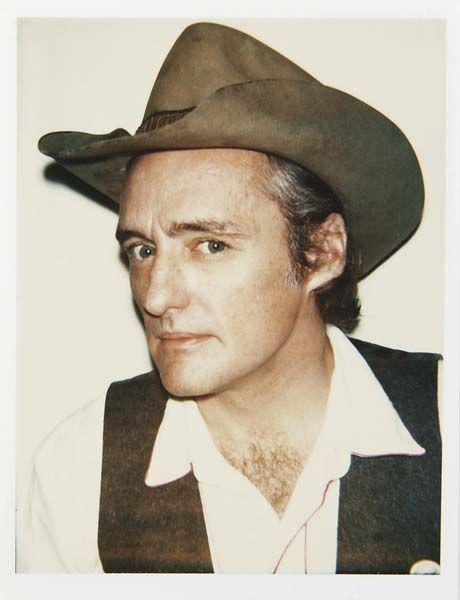 Dennis Hopper. Andy Wharhol Polaroids.