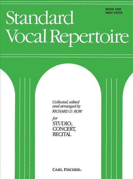 Standard Vocal Repertoire Volume 1 for High Voice (Piano Reduction/Vocal Score)