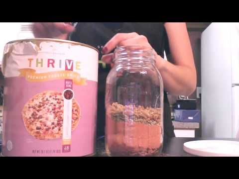 ▶ 5 Days of Jar Meals Day 1: Spaghetti Sauce - YouTube