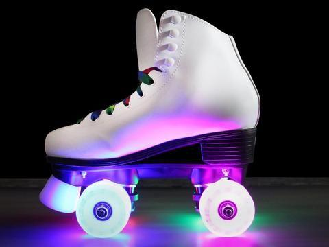 Epic Allure Light-Up Roller Skates