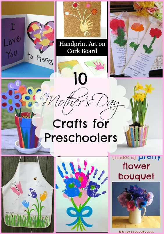 Easy Mother 39 S Day Crafts For Preschoolers Mothers Day