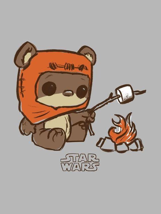 Star Wars Wicket the Ewok Pop Tee by Funko, FYE exclusive