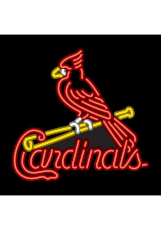 St Louis Cardinals Man Cave Ideas : St louis cardinals neon sign mlb man cave perfect