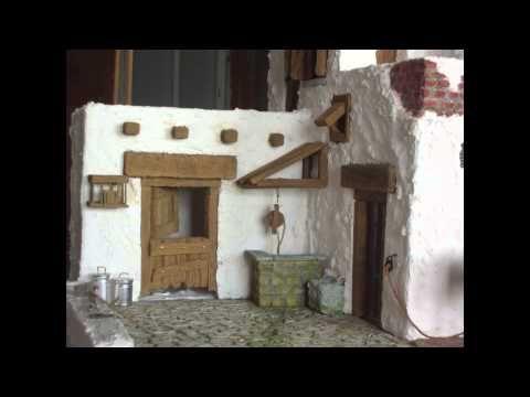 Construyendo una casa de poroexpan en el Belén para labradores. - YouTube