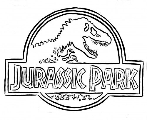 Hagiographic Wp Content Uploads 2013 12 Jurassic Park Coloring Pages Image Search Results 62419