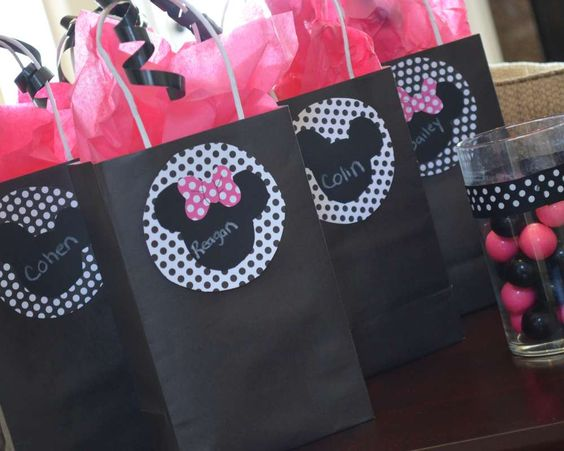 Mickey Mouse Clubhouse or Minnie Mouse Birthday Party Ideas   Photo 1 of 16