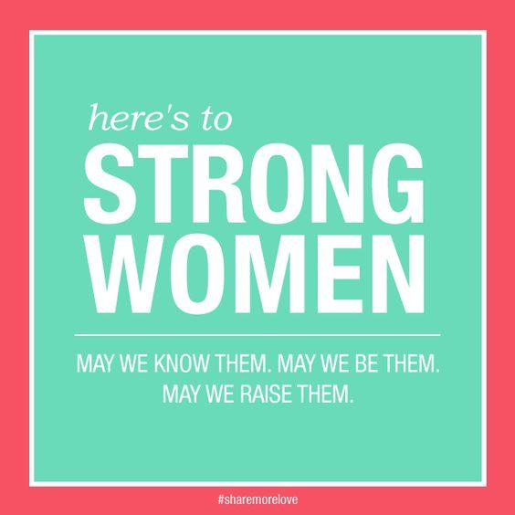 Les femmes fortes.