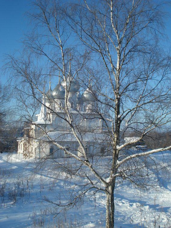 Russian monastery in winter #2
