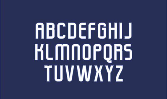 United Squad - Custom Sports Typeface