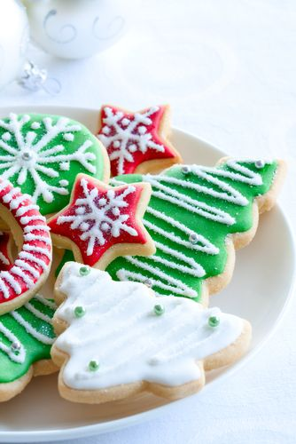 Sugar Cookies... although the dough is the best part ;)