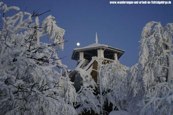 Gipfel der #GroßenKösseine im #Fichtelgebirge  Nähere Informationen zum Fichtelgebirge http://www.wanderungen-und-urlaub-im-fichtelgebirge.de/das-fichtelgebirge