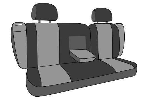 Caltrend Rear Row 4060 Split Bench Custom Fit Seat Cover For Select Subaru Outback Models I Cant B Custom Fit Seat Covers Car Interior Design Ford Seat Covers