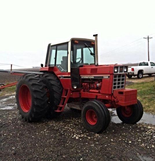 International Harvester 1586 Tractor : Hp international ih farmall pinterest