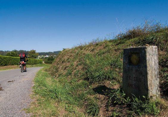 Amenal, La Coruña, Camino de Santiago