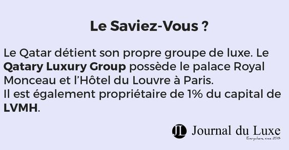 http://journalduluxe.fr/balmain-vente-qatar/ #qatar #luxury #lvmh