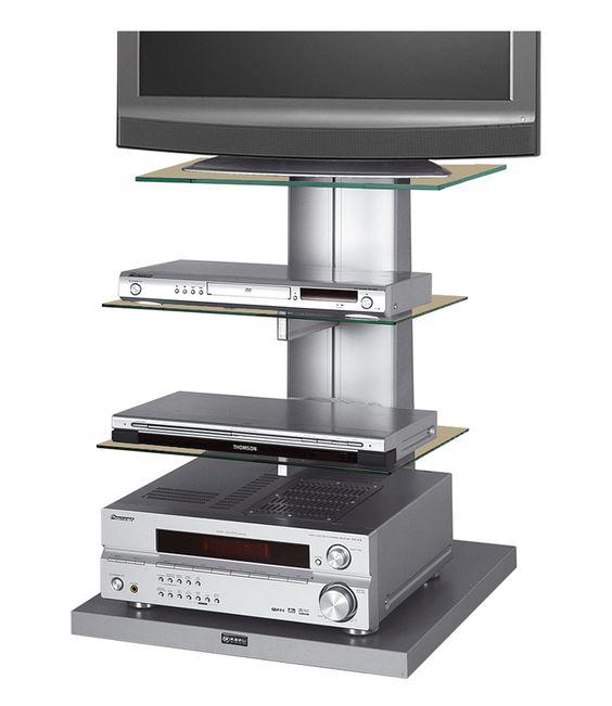Audiomeubel Wenus 1 Wenus tv meubel is zeer geschikt om in een hoek van de kamer te plaatsen, maar ook tegen een vrije muur komt het uitstekend tot zijn recht.