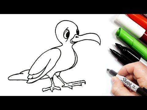 تعليم الرسم للاطفال طريقة رسم صقر للاطفال رسم سهل تعلم رسم نسر سهل رسومات سهله وجميله Youtube Art Fictional Characters