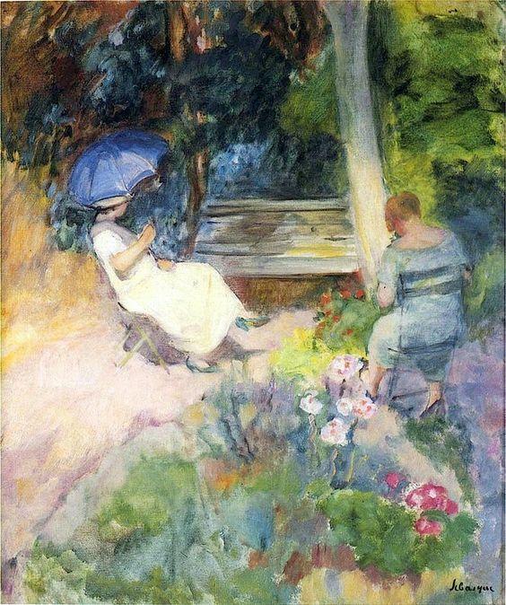 The Garden - Henri Lebasque  French 1865-1937