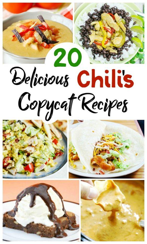 20 Copycat Chili's Recipes You'll Love - An Alli Event