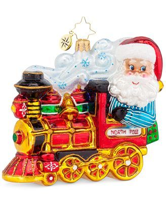 Christopher Radko North Pole Express Ornament | *Christmas ...
