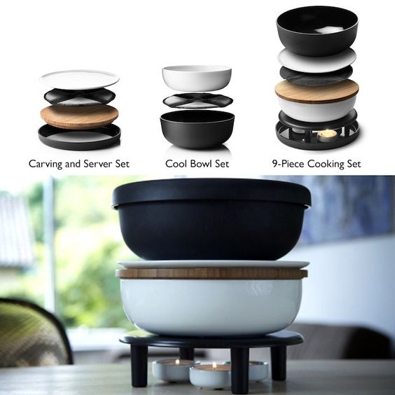 Norm Architects Cookware Set, Modern Dining
