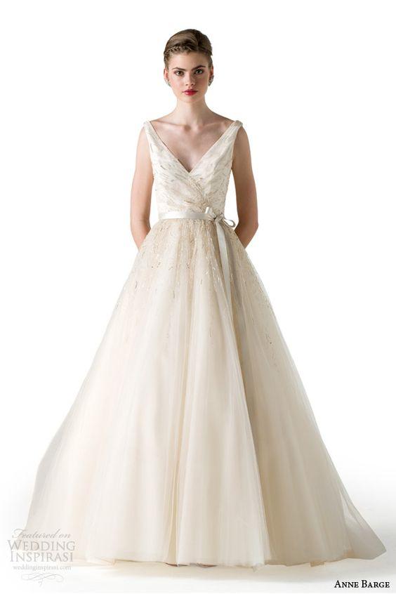 anne barge bridal spring 2015 mystique sleeveless ball gown wedding dress
