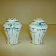 Nippon Hand  Painted Salt & Pepper Shakers
