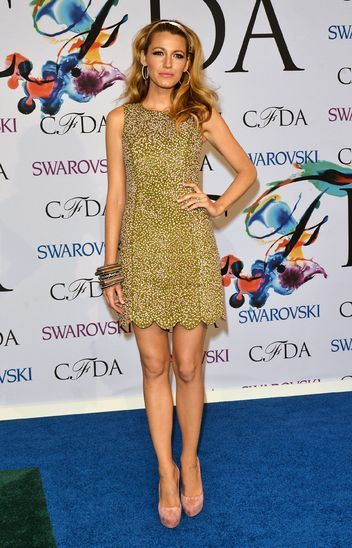 Blake Lively in Michael Kors at the CFDA Awards