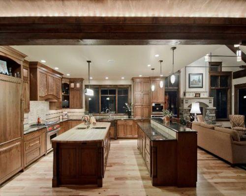 100 Küchen Designs – Möbel, Arbeitsplatten und zahlreiche Einrichtungslösungen - arbeitsplatten küche spülen pendelleuchten schrank fußboden