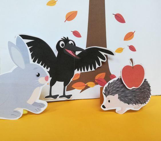 Szutyejev Az alma mese bábokkal