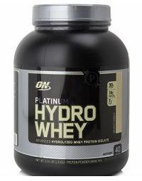 O Hydrowhey Platinum da Optimum Nutrition é composto basicamente pela whey protein isolado e hidrolisada. Uma proteína pura, livre de carboidratos (lactose) e gorduras, que passa por um processo de filtragem que quebra as proteínas em partículas menores.