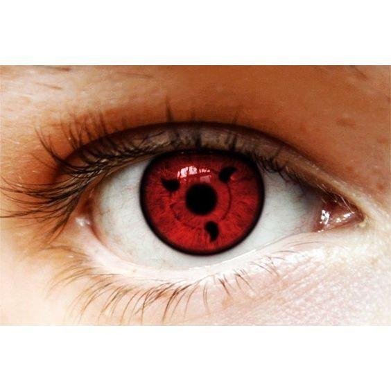 Naruto Sharingan #Halloween themed #contact lenses