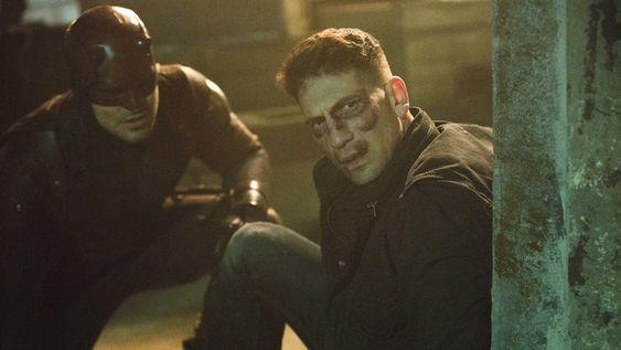 The Punisher's John Bernthal in Daredevil season 2