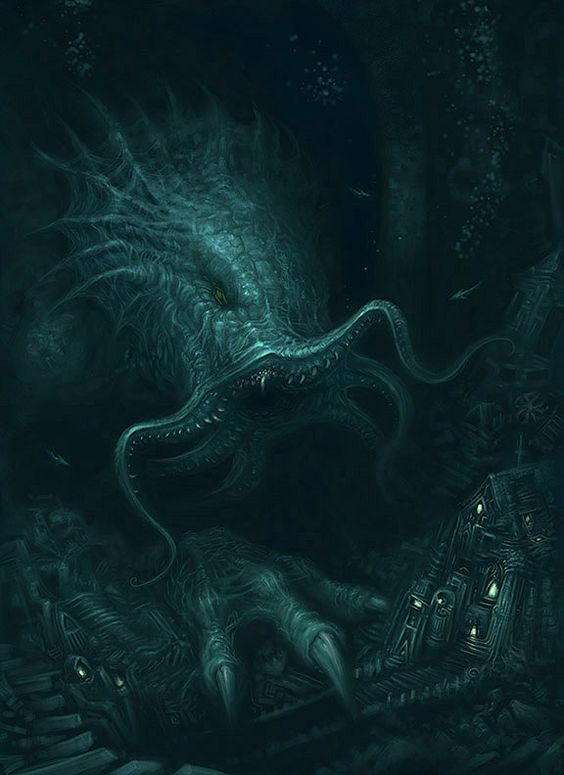 Cthulhu Returns by *ScottPurdy on deviantART