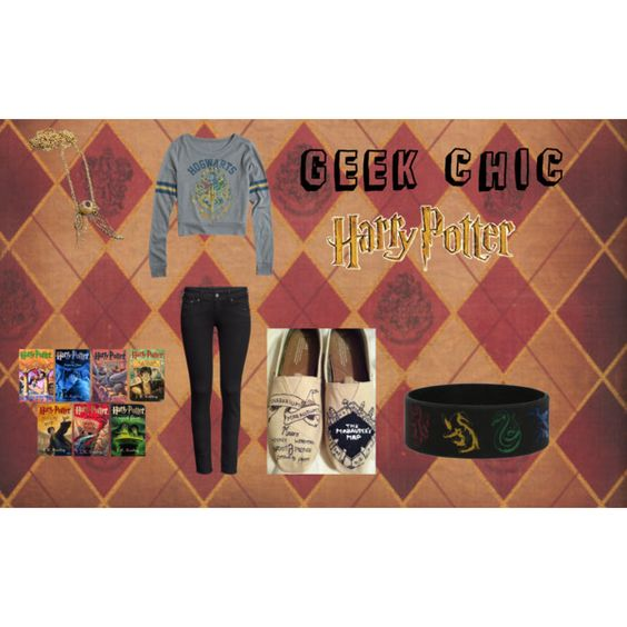 """""""Geek Chic- Harry Potter"""" by air4everme on Polyvore"""