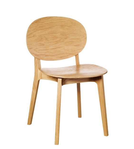 Claesson Koivisto Rune . olive wood chair, for Swedese