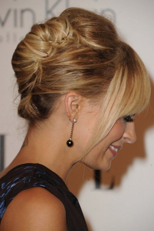 Last but not least, French twist hairstyle is another ideal hairstyle for women going to a job interview. Description from hairstalk.com. I searched for this on bing.com/images