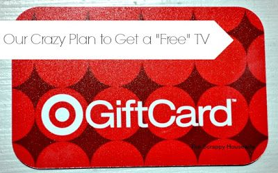 The Scrappy Housewife: Our Crazy Plan to Get a Free TV