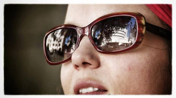 #NewYork Reflet du #Guggenheim