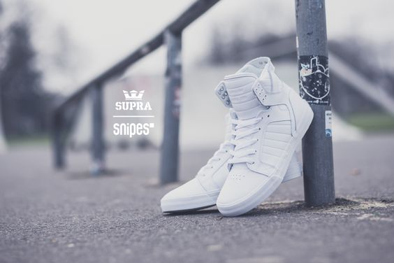 Supra Skytop white/white/white ; SHOP: snipes.com Artikelnummer: 1003059 #supra #skytop #allwhiteeverything #sneaker #womft #snipes