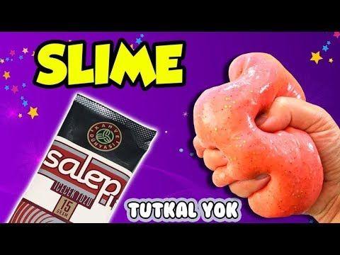 Tutkalsiz Slime Yapimi Salep Ile Slime Nasil Yapilir Slaym Oyuncak Hediye Tv Oyuncak Video Oyunlari