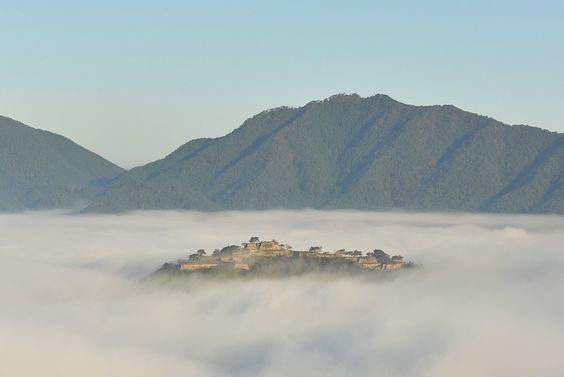 Asago-shi, hyōgo-ken, Japanで撮影された立雲峡の写真 竹田城跡