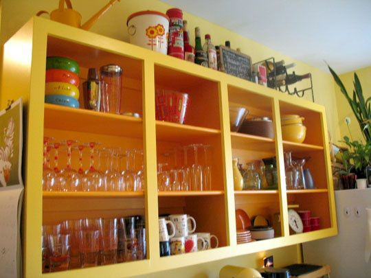 kitchen cabinets without doors | ... kitchen kitchens open cabinet ...