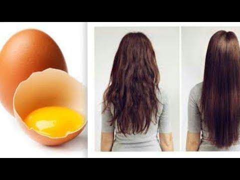 بيضة واحدة لتطويل الشعر بسرعة الصاروخ من الاستعمال الاول Eggs Breakfast Food