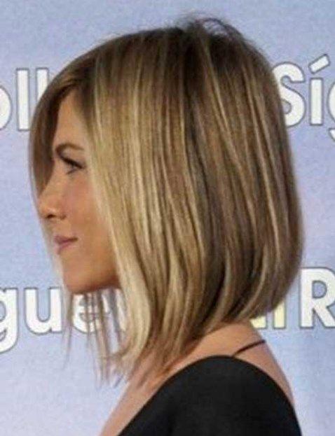 100 Latest Easy Haircuts Short In Back Longer In Front Hair Styles Jennifer Aniston Hair Medium Hair Styles