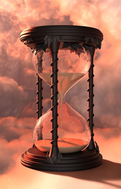 Sanduhr - Stundenglas / Hourglass - Sandglass - Sand Timer - Sand Watch - Sand Clock