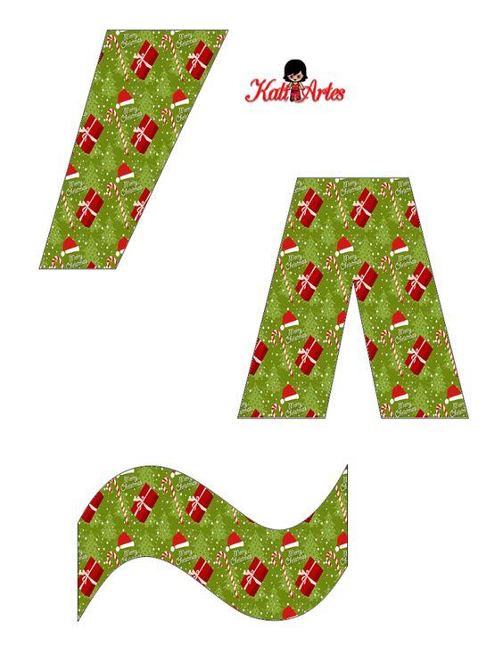 EUGENIA - KATIA ARTES - BLOG DE LETRAS PERSONALIZADAS E ALGUMAS COISINHAS: Natal - Alfabeto presentinhos